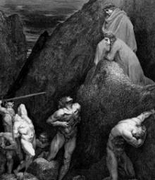 Muhammad in Hell - Dante's Inferno