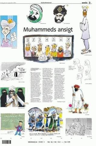 Cartoons of Mohammed. Jyllands-Posten