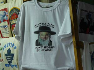Zapatero: don't worry, be Jewish